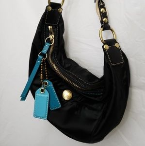 Coach Satin Hobo Bag